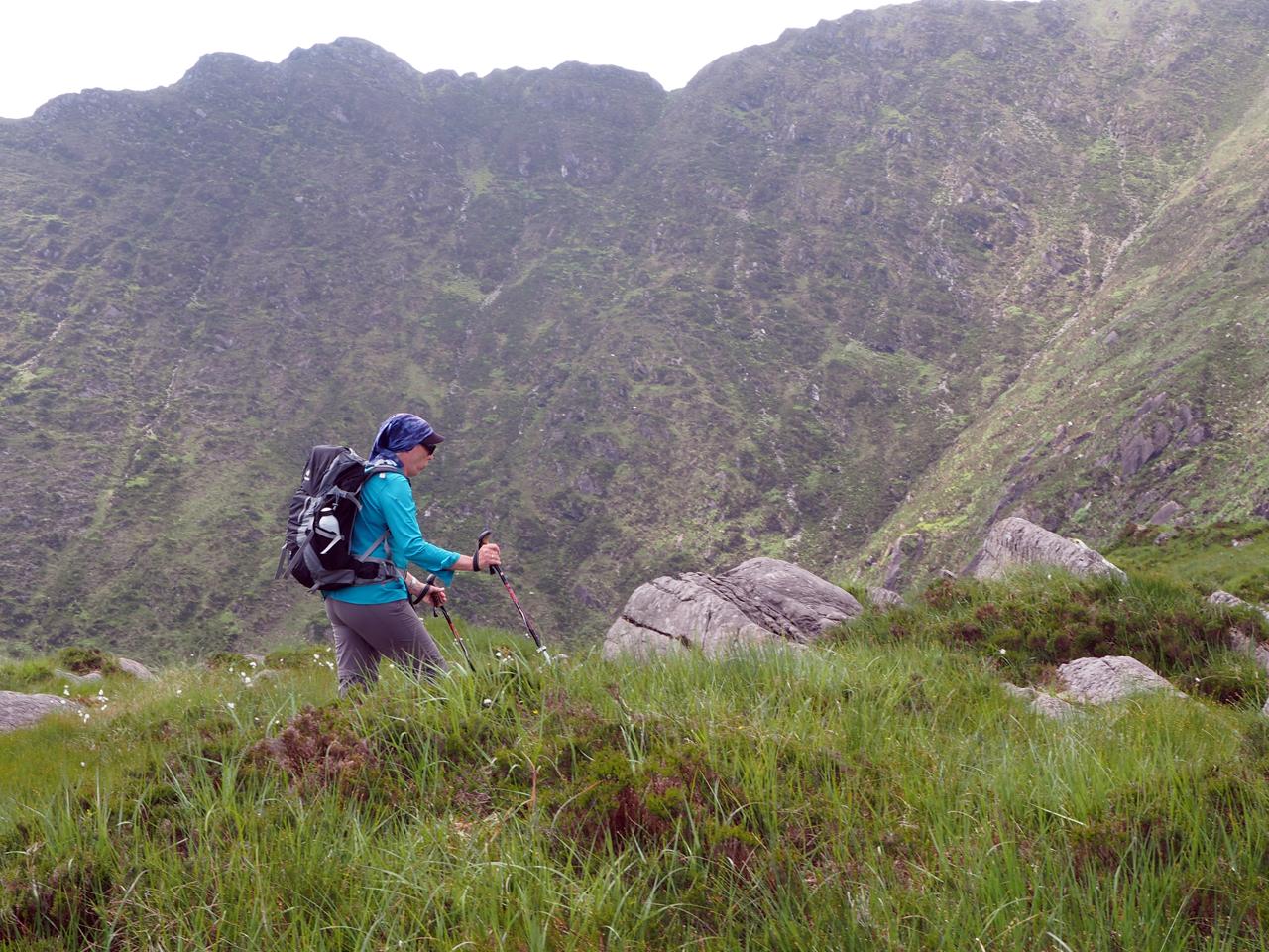 een schitterende bergwereld