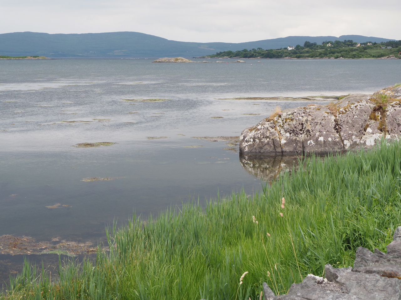 aan de baai in Adrigole