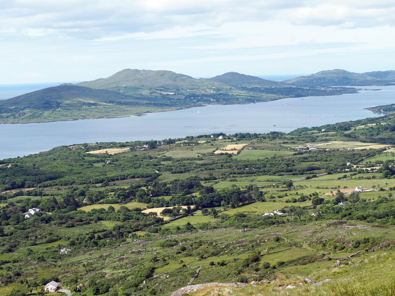 uitzicht naar Bere Island