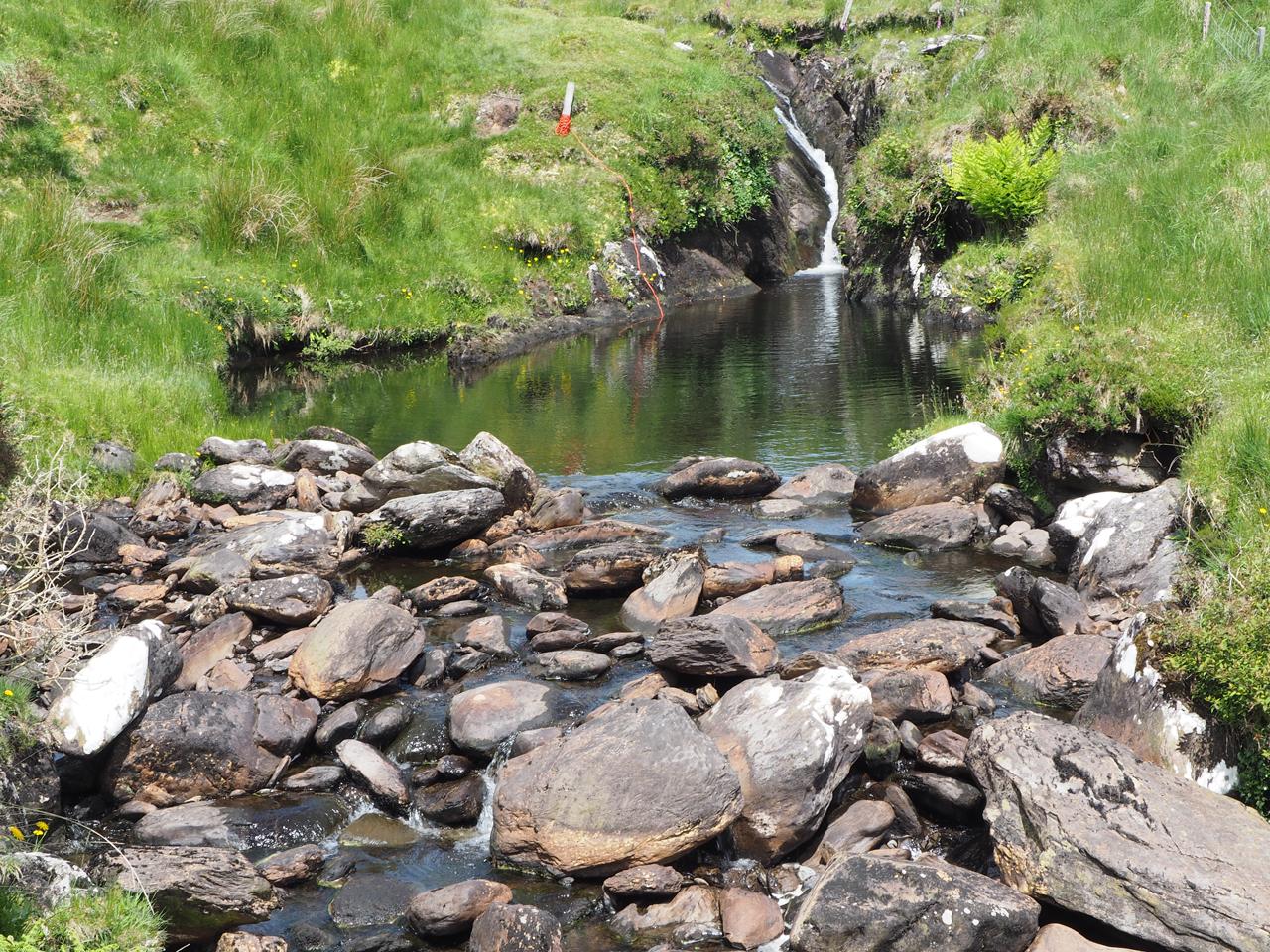 bij de mooie Owgarriff River