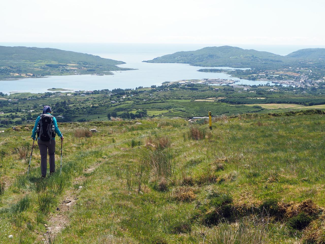 Castletownbere komt in zicht
