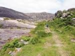 fraai dal tussen Hungry Hill en Knocknagree