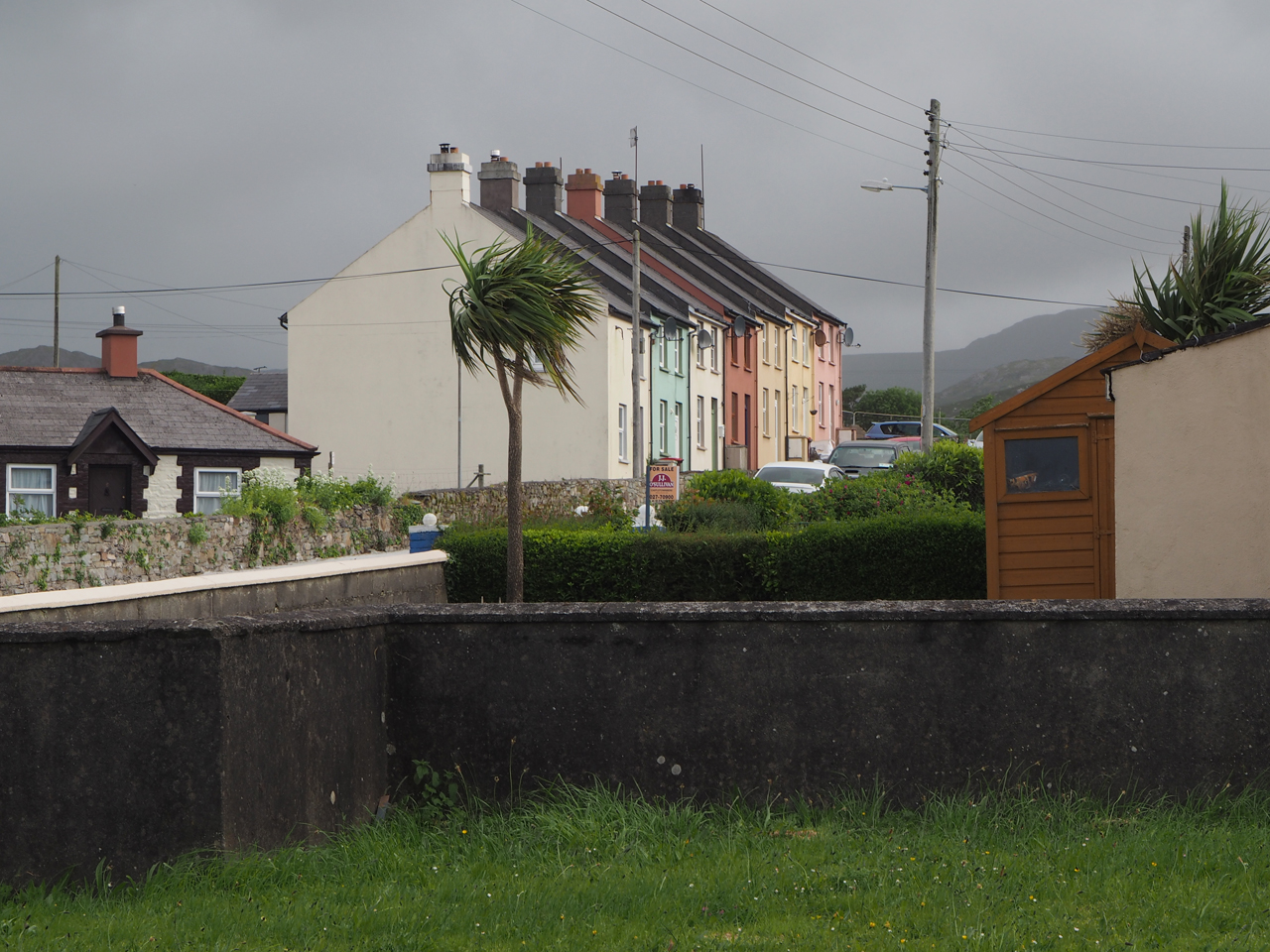een woonwijk in Castletownbere