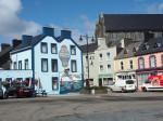 het havenplein in Castletownbere