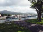 de landtong achter de haven