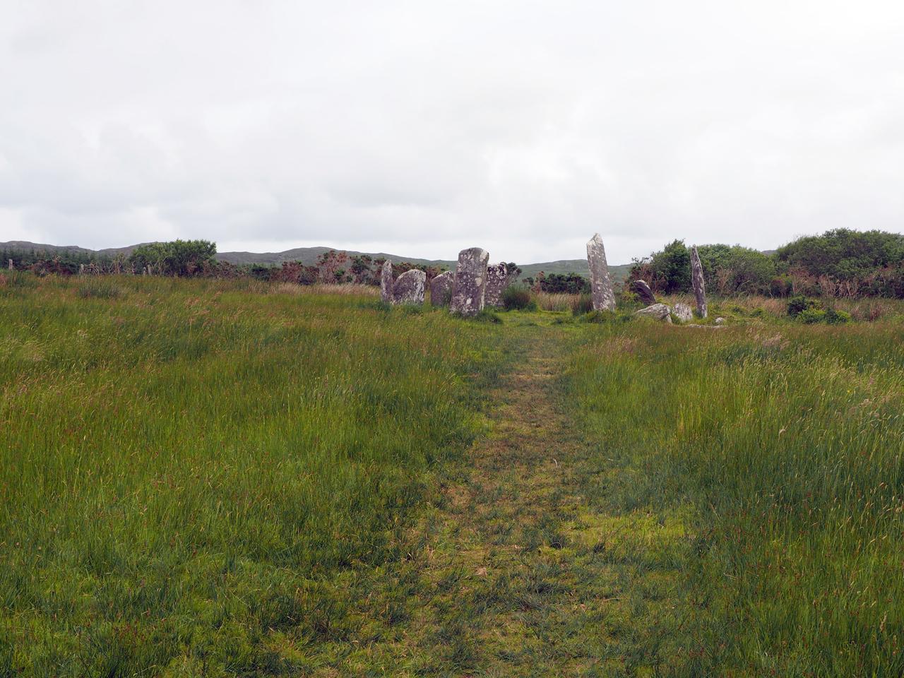 Stone Circle langs de route