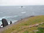 aan de rand van de Atlantische Oceaan