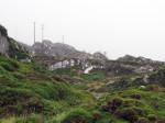 kopermijnen op de berghelling