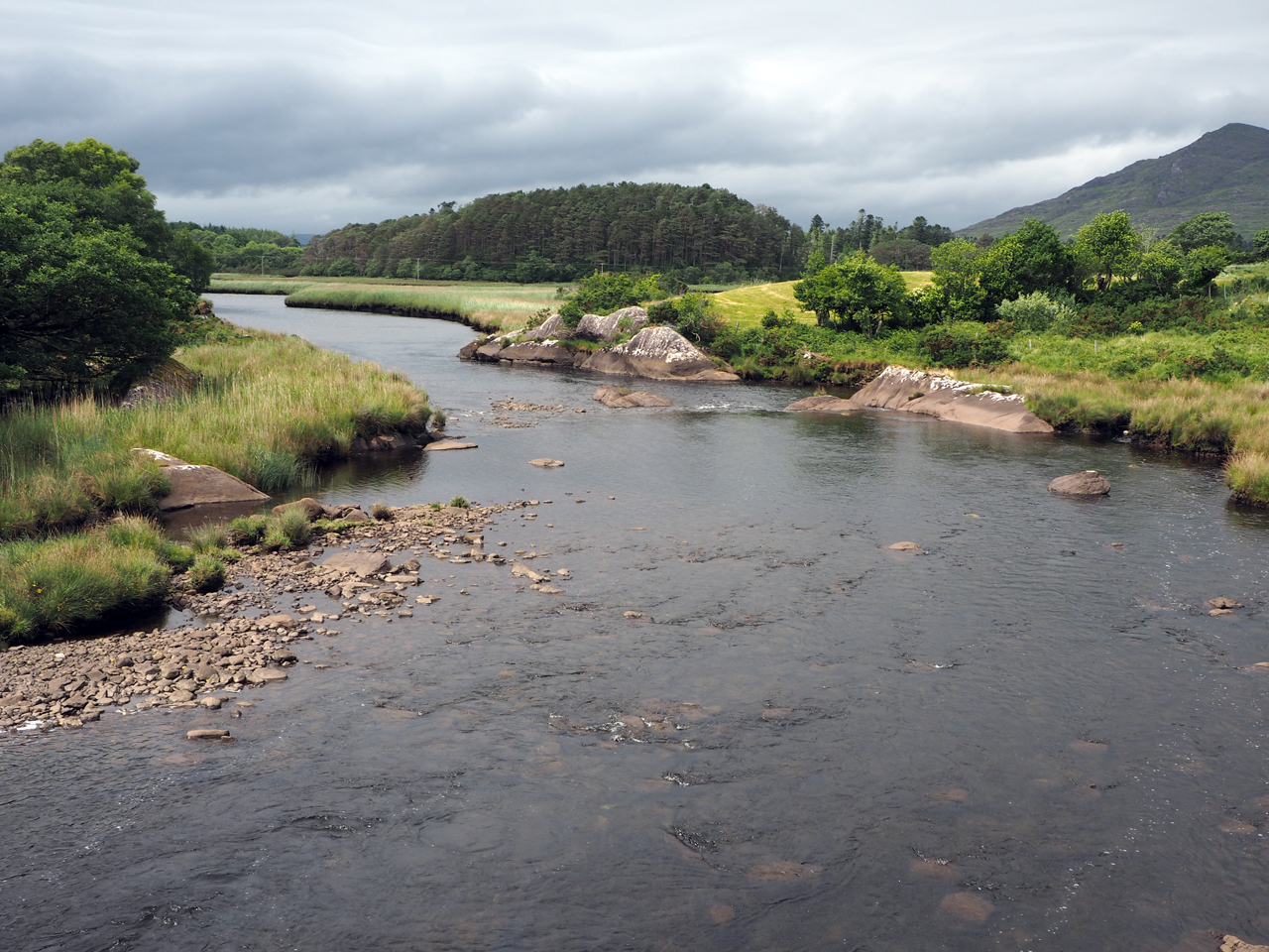 Croanshagh River en Bridge