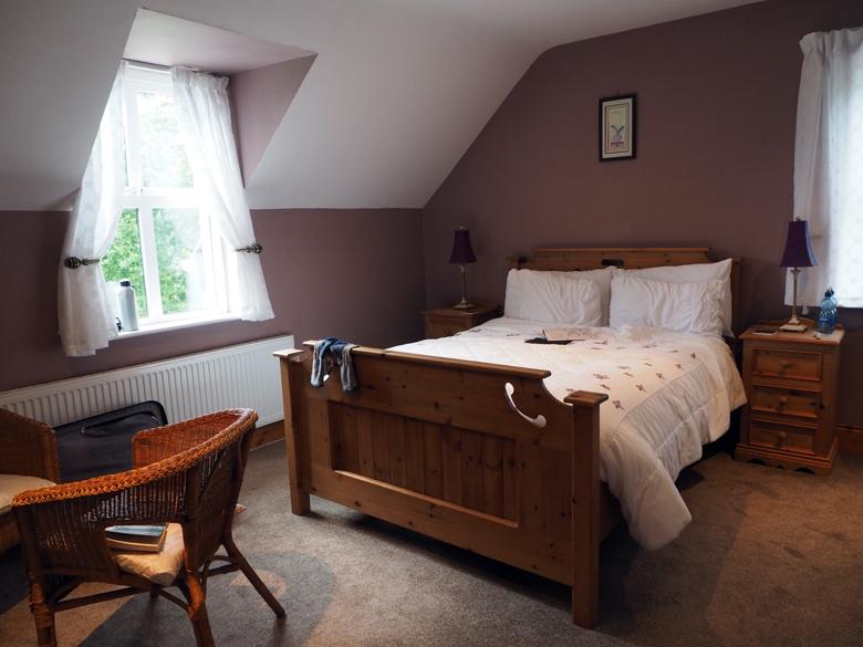 de keurige kamer in Moulin Lodge