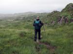 over een prachtige bergrug naar Ardgroom