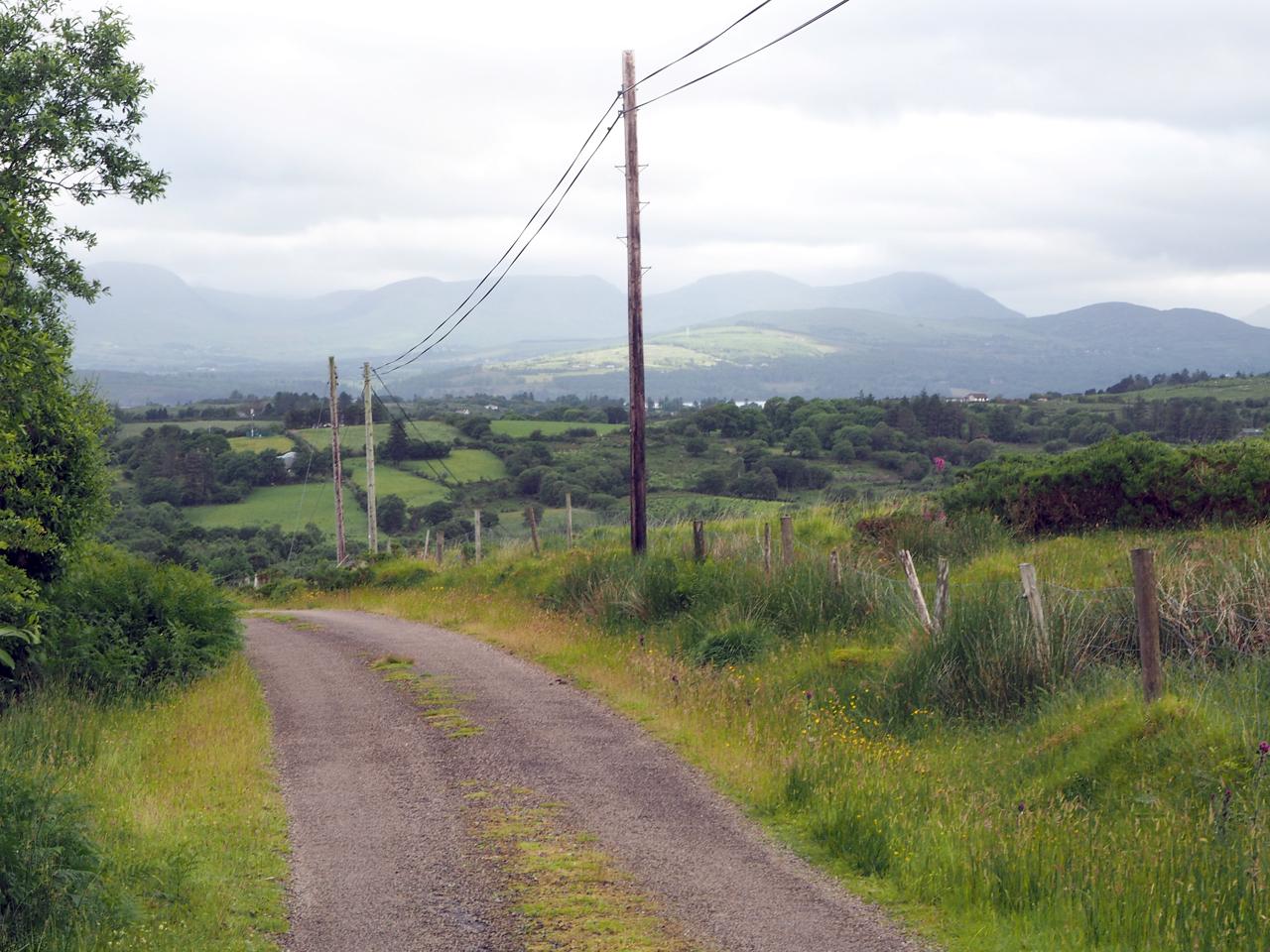 ontspannen wandeling naar het dal